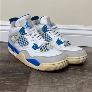 Nike Air Jordan Retro 4 Military Blue